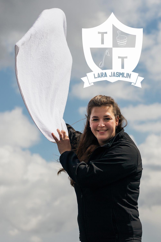 Lara Jasmijn Wedstrijd opgietteam Thermen La Mer Day Spa Almere