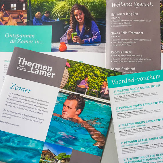 Thermen La Mer - Day Spa Almere - Thermen Thema's